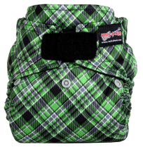 Punk Plaid Green